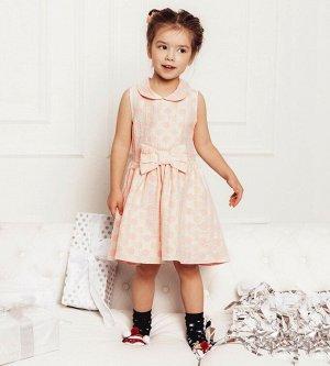 Платье для девочки, жаккард