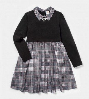 Платье для девочки, ангора+кулирка