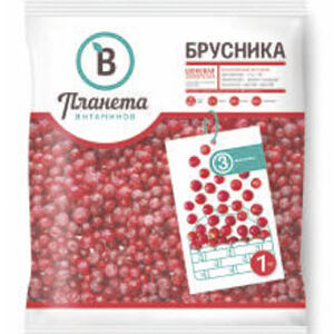 Брусника, Планета Витаминов, 1000 г, (6)