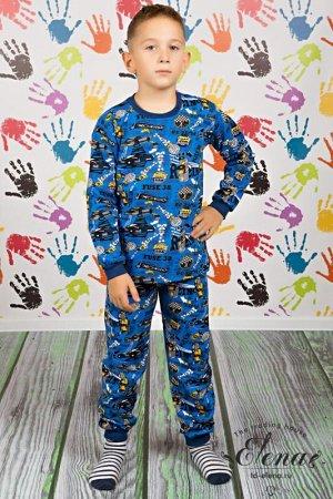 Пижама с брюками (начес) Арт. 21436М