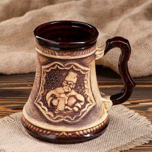 "Кружка для пива ""Атаман"" 0,5 л"