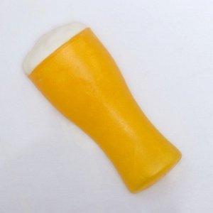 """Мыло фигурное """"Бокал светлого пива""""  85 г"""