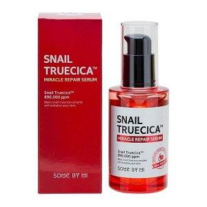Some by mi Snail Truecica Miracle Repair Serum Сыворотка для лица с улиточным муцином 50 мл.