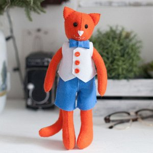 "Игрушка из фетра, набор для творчества ""Кот"""