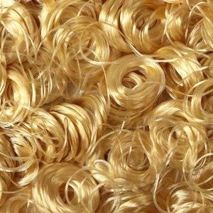 Волосы для кукол «Кудряшки» 70 г, размер завитка: 1 см, цвет D7118