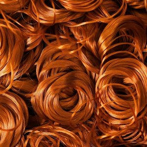 Волосы для кукол «Кудряшки» 70 г, размер завитка: 1 см, цвет D6104