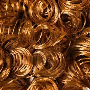 Волосы для кукол «Кудряшки» 70 г, размер завитка: 1 см, цвет D626
