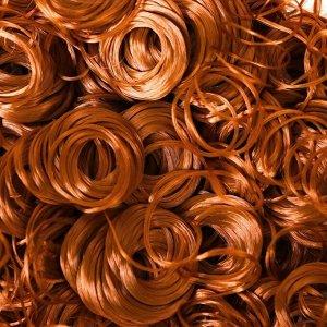 Волосы для кукол «Кудряшки» 70 г, размер завитка: 1 см, цвет D6137