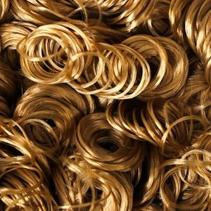 Волосы для кукол «Кудряшки» 70 г, размер завитка: 1 см, цвет D011A
