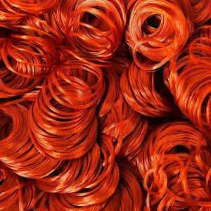 Волосы для кукол «Кудряшки» 70 г, размер завитка: 1 см, цвет D663