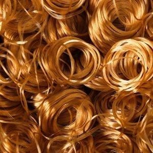 Волосы для кукол «Кудряшки» 70 г, размер завитка: 1 см, цвет D6131
