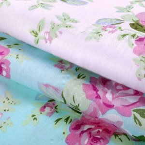 Набор ткани пэчворк «Розовый водопад», 50 ? 50 см