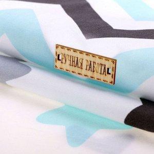 Набор ткани пэчворк «Тихая ночь», 50 ? 50 см