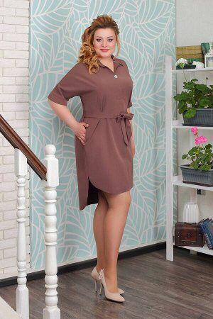 Платье 5354.10.3+пояс+брошь