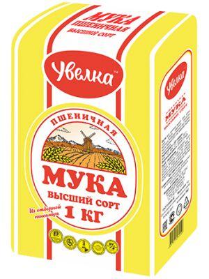 """Мука в/с 1 кг """"Увелка"""""""
