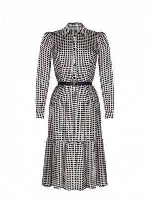 Платье Rinas.cimento Цвет: var white 100%Polyester Belt:60%Polyurethane-40%Polyester