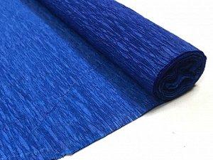 Гофра Китай, 250*50 см № 34 синий