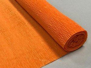 Гофра Китай, 250*50 см, № 51 морковный