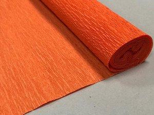 Гофра Китай, 250*50 см, № 25 оранжевый