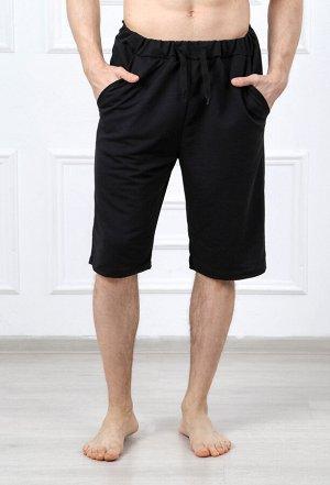 Шорты мужские с карманом (шнурок) 835 эрик черный