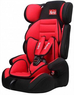 Детское автомобильное удерживающее устройство GE-E11 (1/2) черно/красное