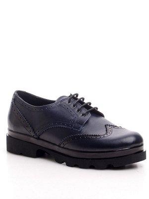 Туфли Страна производитель: Турция Полнота обуви: Тип «F» или «Fx» Материал верха: Натуральная кожа Цвет: Синий Материал подкладки: Натуральная кожа Стиль: Повседневный Форма мыска/носка: Закругленный
