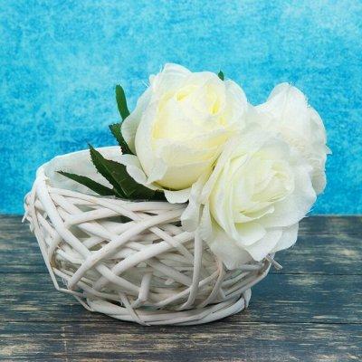 🌷 Кашпо, горшки, грунт - всё для домашних цветов и сада 🌷 — Плетёные кашпо — Кашпо и горшки