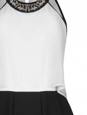 Комбинезон Очень рекомендую на корпративы, смотрится нарядно и неизбито, стройнит ;)  Rinas.cimento Цвет: var white 100%Polyester Inside:97%Viscose-3%Elastane