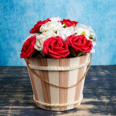 🌷 Кашпо, горшки, грунт - всё для домашних цветов и сада 🌷 — Деревянные кашпо — Кашпо и горшки