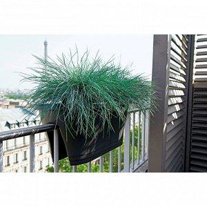 Кашпо на перила 18 л, 60 см, цвет терракотовый
