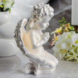 """Статуэтка """"Ангел молящийся"""", перламутровая, 25 см"""