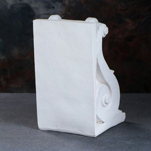 """Подставка для книг """"Абстракция"""". белый 25см"""