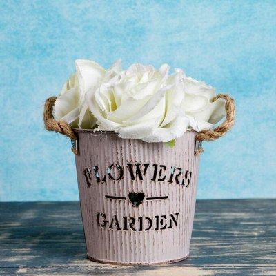 🌷 Кашпо, горшки, грунт - всё для домашних цветов и сада 🌷 — Кашпо из металла — Кашпо и горшки