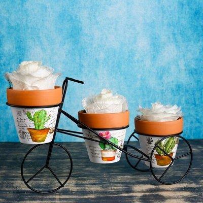 🌷 Кашпо, горшки, грунт - всё для домашних цветов и сада 🌷 — Наборы горшков из керамики — Кашпо и горшки