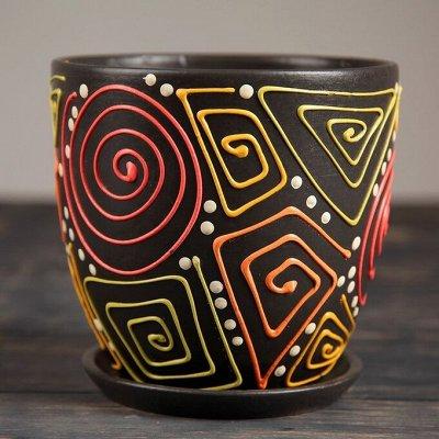 🌷 Кашпо, горшки, грунт - всё для домашних цветов и сада 🌷 — Кашпо из керамики от 7 до 10 л — Кашпо и горшки
