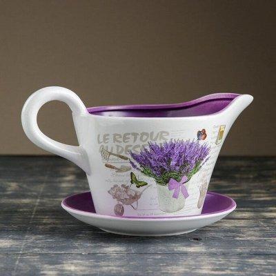 🌷 Кашпо, горшки, грунт - всё для домашних цветов и сада 🌷 — Кашпо из керамики до 3 л — Кашпо и горшки