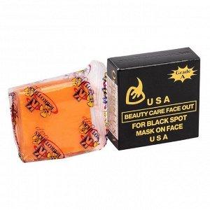 Мыло для лица с экстрактами трав BLACK SOAP, Кэй Бразерс, 50 гр