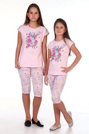 Пижама Птичка-2 (Розовый)