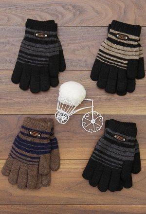 Перчатки для мальчика, двойные