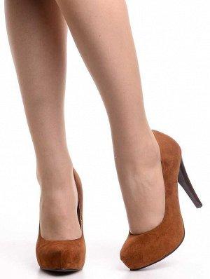 Туфли Страна производитель: Китай Полнота обуви: Тип «F» или «Fx» Материал верха: Замша Цвет: Коричневый Материал подкладки: Натуральная кожа Стиль: Классический Форма мыска/носка: Закругленный Каблук