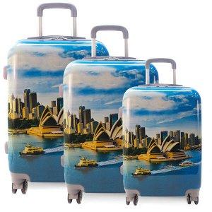 Комплект чемоданов. 0099 Opera house