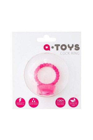 Эрекционное кольцо на пенис TOYFA A-Toys  , Силикон, Розовый, ?3,5 см