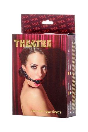 Кляп TOYFA Theatre, ABS пластик, черный