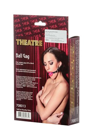 Кляп TOYFA Theatre, ABS пластик,  розовый