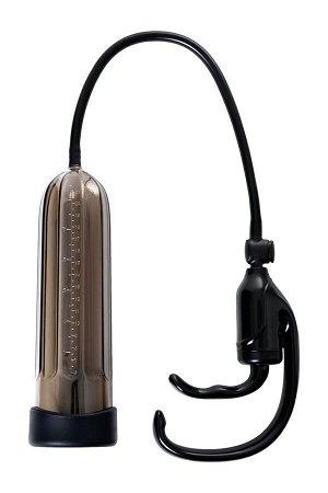 Помпа для пениса Sexus Men Expert, вакуумная, механическая, ABS пластик, чёрная, 25 см
