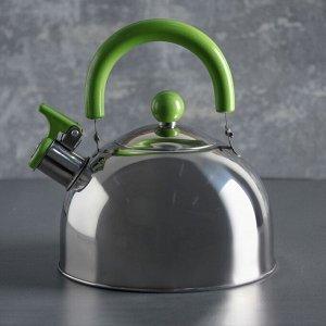 Чайник со свистком 2,5 л «Глосс»