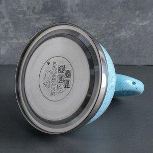 Чайник со свистком 3 л «Пломбир», индукция, цвет МИКС