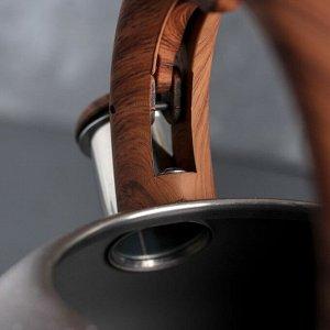 Чайник со свистком 3 л «Виланд», индукция, цвет МИКС