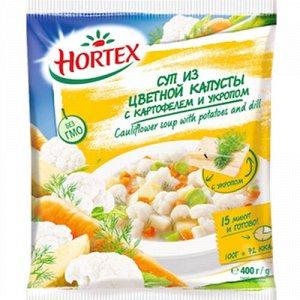 Суп из цв.капуста/укроп, Хортекс, 400 г, (12)