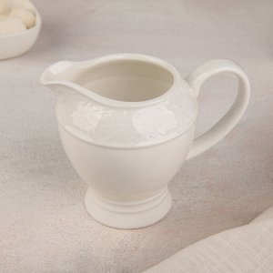 Молочник «Роза алба», 200 мл, 13х8,5х10 см